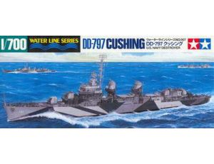 USS Destroyer Cushing