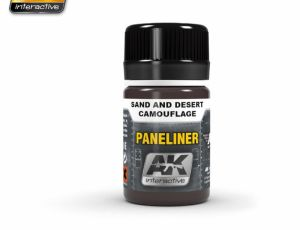 Paneliner for Sand and Desert Camo