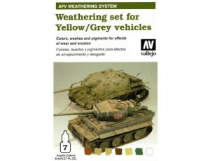 Wathering for Yellow/Grey vehicles